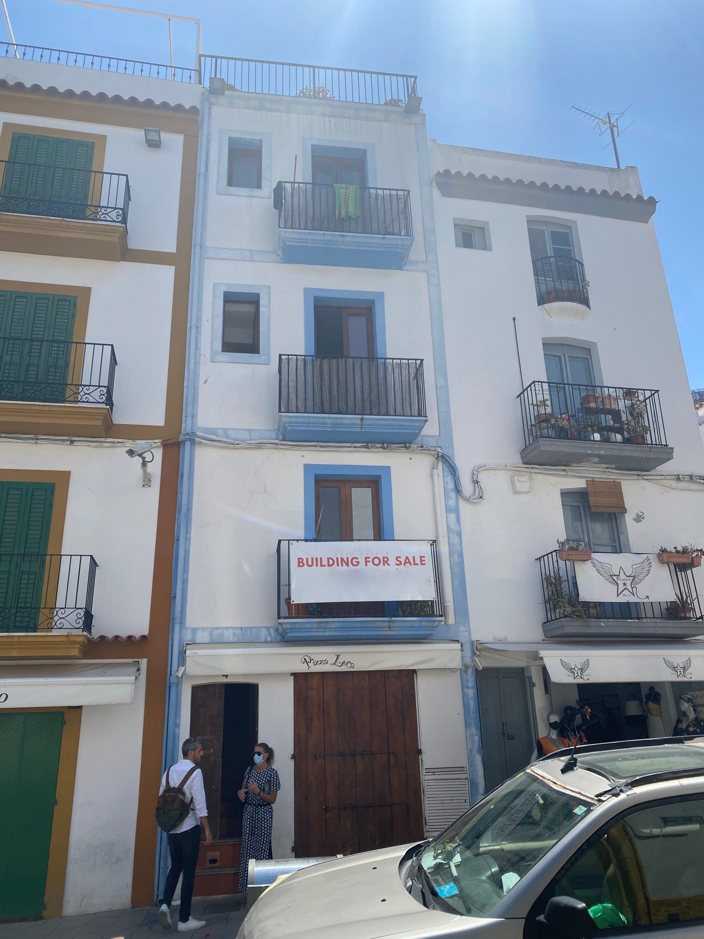 Building In Ibiza Town For Sale With License For Small Restaurant Ibiza Luxury Xl